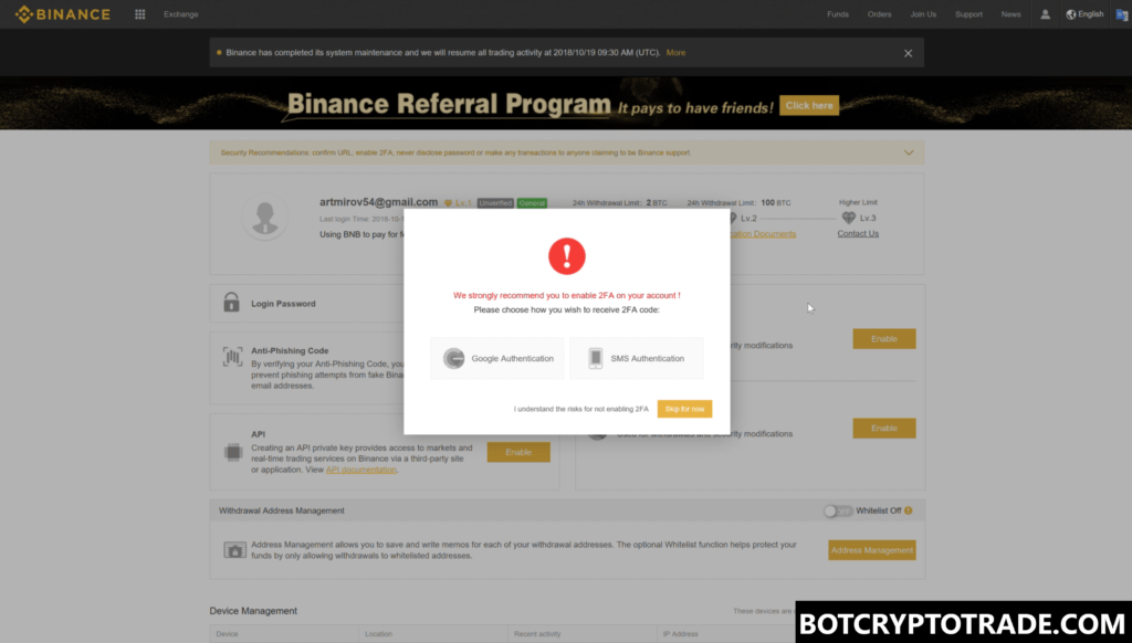 How register on Binance