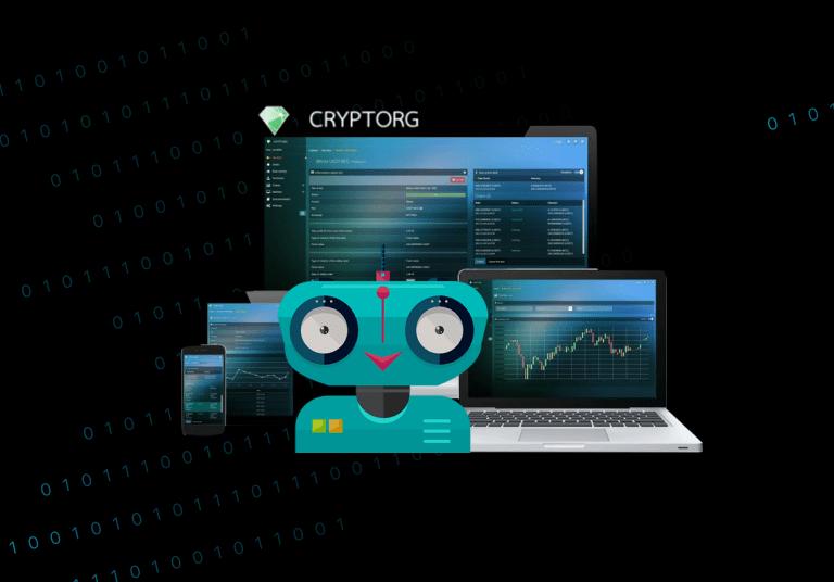 Быстрая работа с Cryptorg