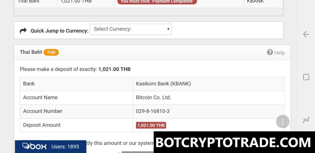 How to pay for Cryptorg service?