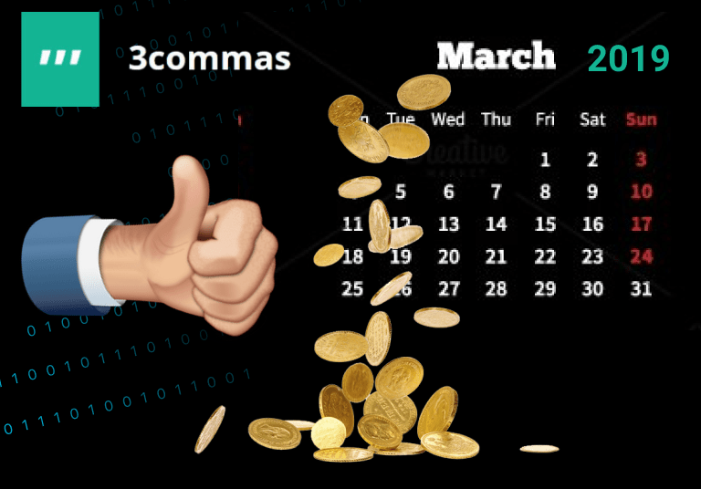 Results of trade 3commas for March 2019