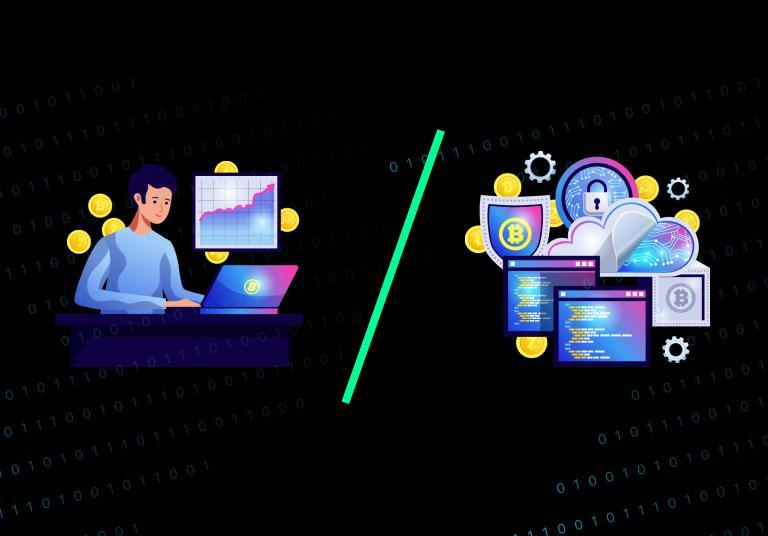 Ручная и автоматическая крипто торговля