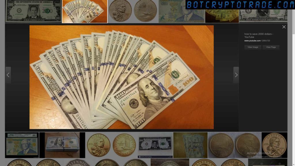 2000 USD por mes de criptomonedas