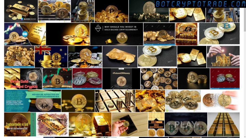 Oil, gold, and cryptocurrency